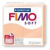 Полимерная глина (пластика) Fimo Soft, 57г, Телесная