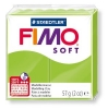 Полимерная глина (пластика) Fimo Soft, Зеленое яблоко, 57г