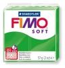 Полимерная глина (пластика) Fimo Soft, 57г, Тропическая зеленая