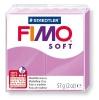 Полимерная глина (пластика) Fimo Soft, 57г, Лавандовая