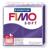 Полимерная глина (пластика) Fimo Soft, 57г, Сливовая
