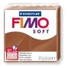 Полимерная глина (пластика) Fimo Soft, 57г, Карамель