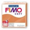 Полимерная глина (пластика) Fimo Soft, 57г, Коньяк