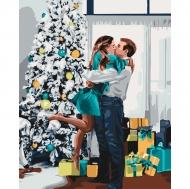 Картина по номерам Идейка 40х50см Новогоднее настроение (КНО4637)