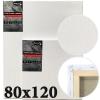 Холст на подрамнике Monet итальянский хлопок среднее зерно 80*120 см (MN80120)
