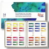 Набор акварельных красок ROSA кювета Studio 24 цв
