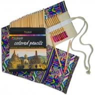 Набор профессиональных карандашей Colore с пеналом 72 цвета