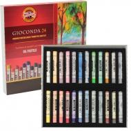 Пастель масляная GIOCONDA, 24 цвета, KOH-I-NOOR