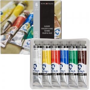 Набор маслянных красок VAN GOGH Starter set 6 цветов 20 мл тубы в картоне (02821406)
