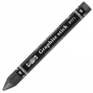 Карандаш графитный бездревесный 8971, толстый, 4В