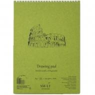 Альбом для акрила и масла на спирали SMILTAINIS AUTHENTIC А5 290г/м2 20 л. белая бумага (5EB-20TS/OA)