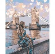 """Картина по номерам Идейка 40х50см  """"Романтический Лондон"""""""