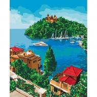 Картина по номерам Идейка 40х50см Остров надежды (КНО2276)
