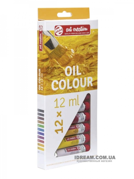 Набор масляных красок Art Creation 12 цветов (Голландия), 12 мл