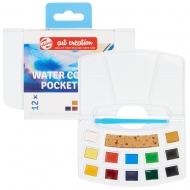 Набор акварельных красок TALENS ART CREATION Pocket box 12 цв