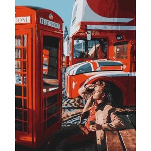 Картина по номерам BrushMe 40*50см Лондон Time (GX27964)