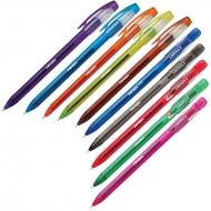 Ручка гелевая Trigel-3, набор 10 цв ассорти