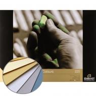 Склейка для пастели REMBRANDT A4, 21х29,7см, 160г/м2, Светлые тона, 30л