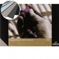 Склейка для пастели REMBRANDT A4, 21х29,7см, 160г/м2, темные оттенки - 6 цветов, 30л