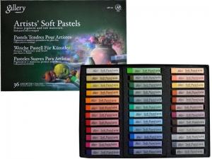 Пастель сухая мягкая MUNGYO, 36 цветов MPV-36