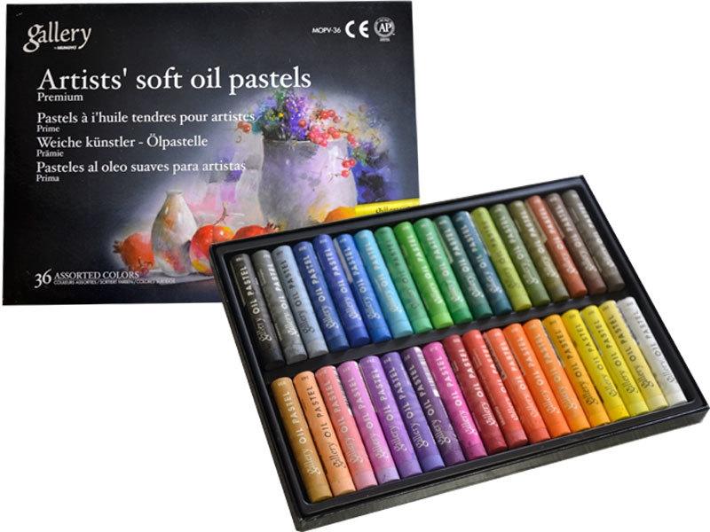 Пастель масляная мягкая MUNGYO, 36 цветов MOPV-36