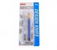 Набор для моделирования 6044 Макетный нож + 8 сменных лезвий + 7 насадок, DAFA