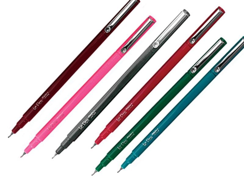 Ручки капиллярные Marvy 0,3 мм
