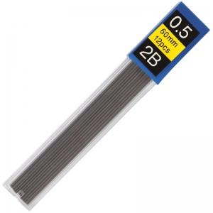 Стержни к механическому карандашу ECONOMIX 2B 0,5 мм (12 шт. в тубусе)
