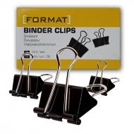 Биндеры для бумаги 51 мм Format 12 шт