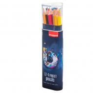 Набор цветных карандашей Bruynzeel Светлый 12+6 (60212118)