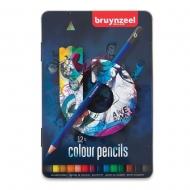 Набор цветных карандашей Bruynzeel Темный 12 (60212012)