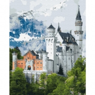 Картина по номерам BrushMe 40*50см Замок Нойшванштайн (GX34842)