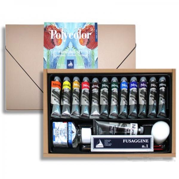 Набор акриловых красок Polycolor 12*20 мл Maimeri карт.коробка (1298175)