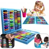 Набор для рисования 168 предметов 7art (синий) a4816813