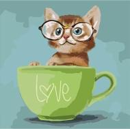 "Набор по номерам ""Lovely kitten"" 40*40см"
