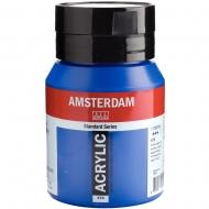 Краска акриловая AMSTERDAM (570) Синий ФЦ 500 мл Royal Talens (17725702)