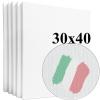 Набор холстов Monet среднее зерно 30*40 см итальянский хлопок 335 г/м (5 шт.)