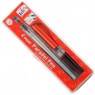 Ручка для каллиграфии с плоским пером Parallel Pen 1.5 мм (FP3-15N-SS)