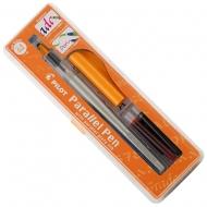 Ручка для каллиграфии с плоским пером Parallel Pen 2.4 мм (FP3-24N-SS)