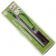 Ручка для каллиграфии с плоским пером Parallel Pen 3.8 мм (FP3-38N-SS)