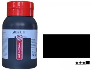 Краска акриловая Art Creation 750 мл, (701) Черная слоновая кость