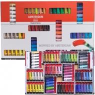 Набор акриловых красок Amsterdam (Голландия) 72 цвета