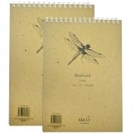Альбом для графики кремовая бумага SMILTAINIS AUTHENTIC 80г/м2
