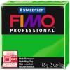 Пластика Fimo Professional 85г (500) Зеленая (8004-500)