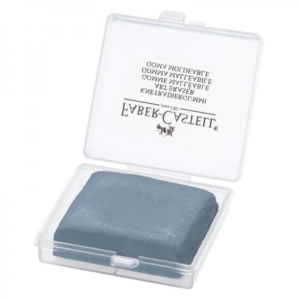 Ластик-клячка для пастели FaberCastell серая в пластиковой коробке