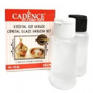 Эпоксидная смола Cadence прозрачная двухкомпонентная Cristal Glase Set 40+40мл