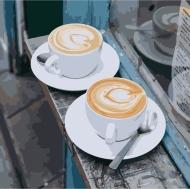 Картина по номерам Идейка 40х40см Утренний аромат любви (КНО5537)
