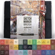 Набор маркеров SKETCHMARKER BRUSH Европа EUROPA 36