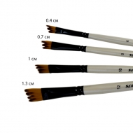 Кисть «Expert» Series 16 зубчатая скошеная синтетика плоская