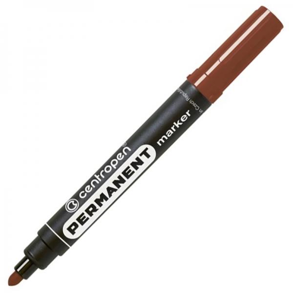 Маркер Permanent 8566 2,5 мм круглый коричневый